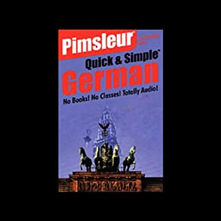 Pimsleur Quick and Simple German for English Speakers                   By:                                                                                                                                 Dr. Paul Pimsleur                           Length: 3 hrs and 47 mins     103 ratings     Overall 4.1