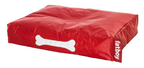 Fatboy Doggielounge, small dog bed - red