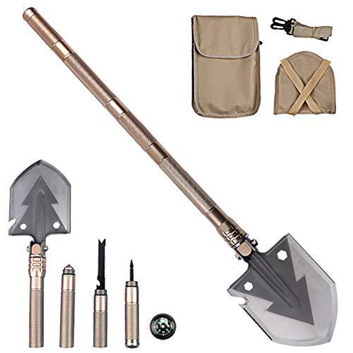 Multi-functional Folding Shovel Spade Camping//Garden//Hiking Emergency Survival❤G