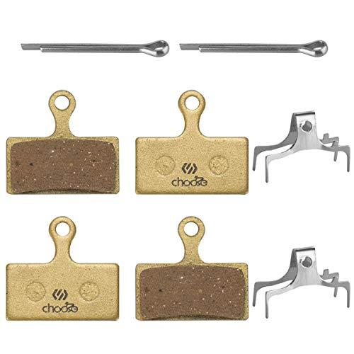 Chooee 2 Pares Pastillas de Freno para Shimano XTR XT SLX G01A g02a g02S G03S Semi-metálico