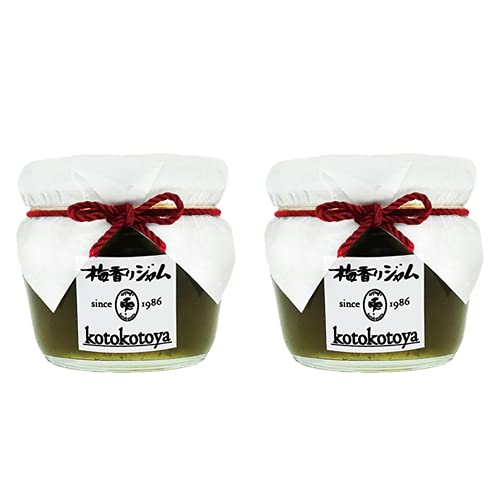 Jam kitchen kotokotoya 手作りジャム 大分県産 梅香りジャム 125g×2個セット 青うめ