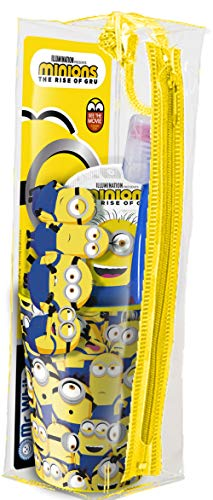 MR White – Minions - Kit de viaje / Set de higiene dental