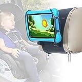 TFY Auto-Kopfstützenhalterung für 7-10 Zoll Fire, Fire HD, Kindle, Kids Edition Tablets, winkelverstellbare Halterung mit Silikon-Haltenetz