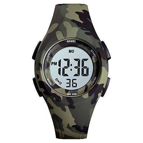 Kids Watch, Boys Girls Digital Sports Watch Waterproof Led Strap Watches with Alarm Wrist Watches for Boy Girls Children - Best Gifts
