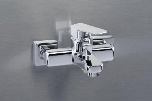 Badewannenarmatur - Badewannen-Wandmischbatterie - Hochdruckarmatur - Badarmatur - Wannenarmatur - Einhebel Armatur -...