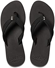 Reef Women's Cushion Breeze Sandal, Black/Black, 10
