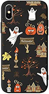 FancyCase Compatible with iPhone X and iPhone Xs,New Halloween Style Transparent TPU Protective iPhone X and iPhone Xs Case by Fancy Case (Halloween Theme)