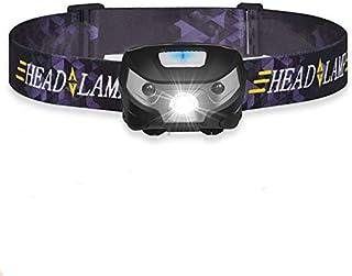 LED Sensor Headlamp, Gyvazla LED Headlamp Flashlight, Rechargeable LED Headlights, Super-Bright Waterproof Head Torch with...