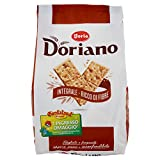 Doria - Doriano Cracker Integrali - Ricchi di Fibre e Gusto - Fragranti e Croccanti - Confezione da 24 Pacchetti