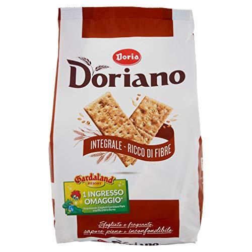 Doriano Crackers Integrali, Ricchi di Fibre, 700g