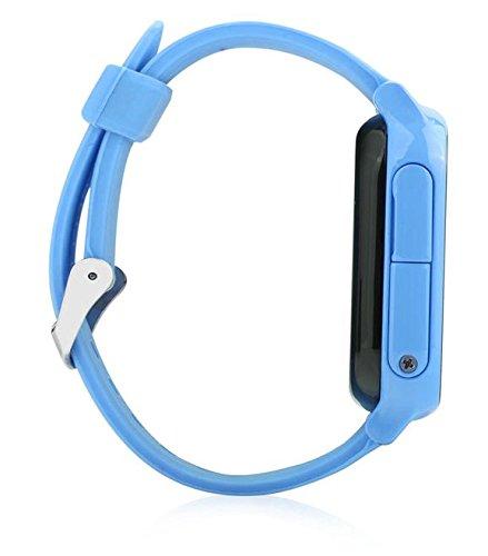 VIDIMENSIO GPS Telefon Uhr ohne Abhörfunktion, für Kinder, GPS Ortung per App SOS mitTelefonfunktion Abbildung 3
