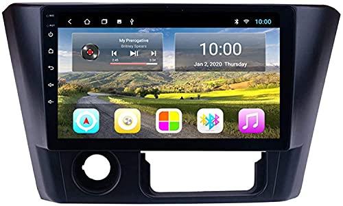 ZHANGYY El Coche con navegación GPS Bluetooth es Compatible con Mitsubishi Lancer 2014-2016 Máquina integrada Android Reproductor Multimedia con navegación Totalmente táctil