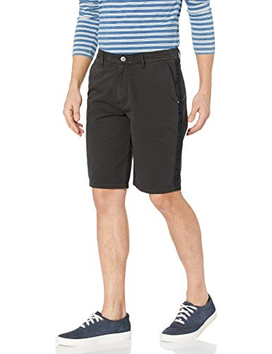 Buffalo David Bitton Herren Haplay Charcoal Legere Shorts, anthrazit, 47