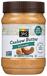 365 Everyday Value, Creamy Cashew Butter, 16 oz