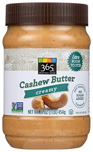 365 Everyday Value, Creamy Cashew Butter, 16 oz