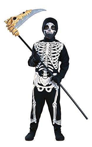 Rubies 2 881907 - Costume da scheletro per bambini (Taglia M)
