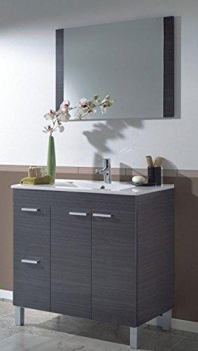 Abitti Mueble para baño o Aseo con 2 Puertas y 2 cajones