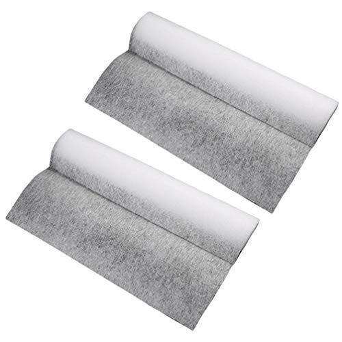 UPKOCH 2 Rollen Dunstabzugshaube Fettfilter Küchenölfilterpapier Ölabsorbierendes Papier Zur Reinigung Der Dunstabzugshaube