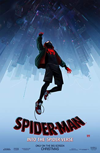 Theissen Spider-Man: Into The Spider-Verse – US Movie Wall Poster Print - Matte Poster Frameless Gift 11 x 17 inch(28cm x 43cm)*IT-00231