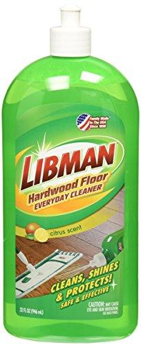 Libman 2065 Hardwood Floor Everyday Cleaner with Squeeze Bottle