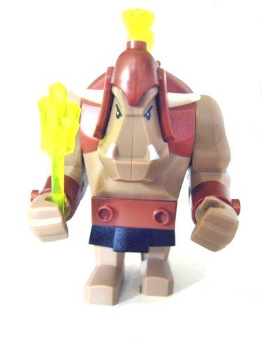 LEGO Castle - Sammelfigur - seltener Riesentroll Ork aus Set 7036 mit Diamanten + Kristallkeule