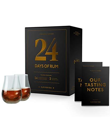24 Days of Rum - Rumkalender Adventskalender 2020