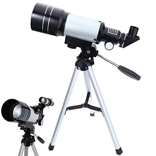 No Logo YO-TOKU Observación de telescopio astronómico HD Protable trípode Espacio terrestre Potente telescopio monocular Luna Prismáticos Claro