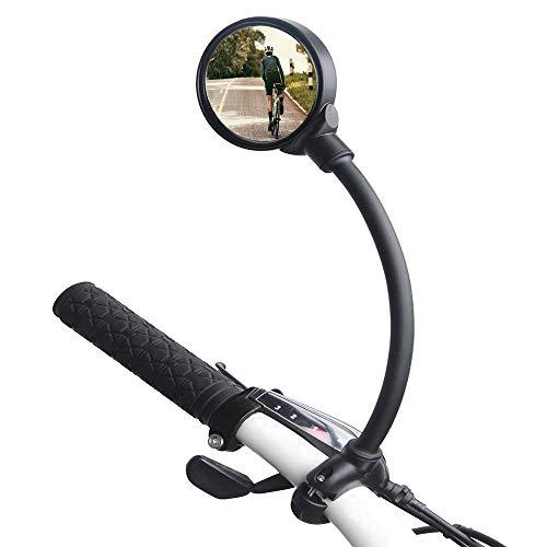 MKSI Espejo de Bicicleta, Espejo Retrovisor de Bicicleta, Es
