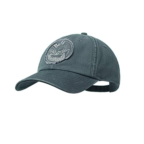 Buff Herren Patterned Baseball Cap, The Wild Grey Sedona, One Size
