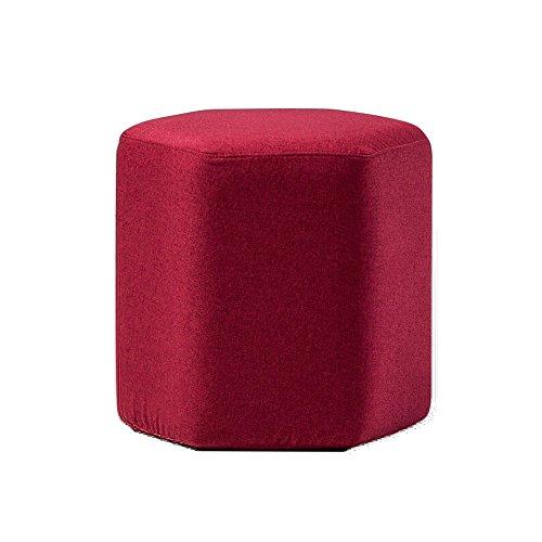 Yxsd Taburete Redondo/Taburete casero de los Zapatos/Taburete de la Sala de Estar, (los 40 * 42cm) (Color : A)