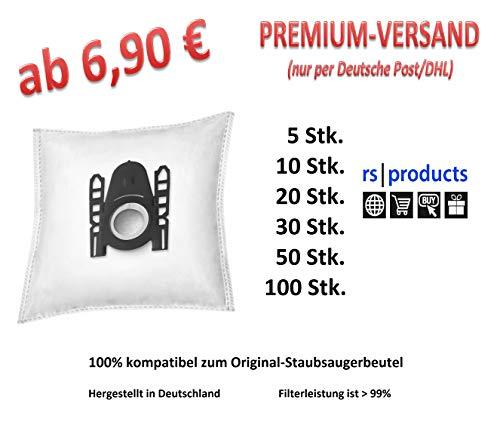 rs-products I Staubsaugerbeutel kompatibel zu ALDI QUIGG SI 150, SI150, SI 200, SI200, SI 103, SI103, SI 104, SI104, SI 108, SI108 und LIDL Aquapur, W5, SI 670, SI670 (5xSI2)