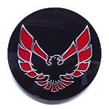 The Parts Place Firebird Trans Am OEM Factory Center Cap Emblem - Red GM # 527087