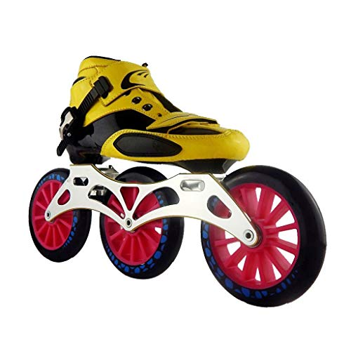 Purchase Sljj Speed Skating Shoes 3125MM Adjustable Inline Skates, Straight Skating Shoes (5 Colors)...