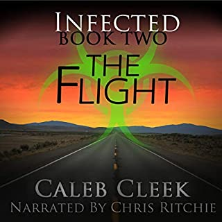 Infected: The Flight audiobook cover art