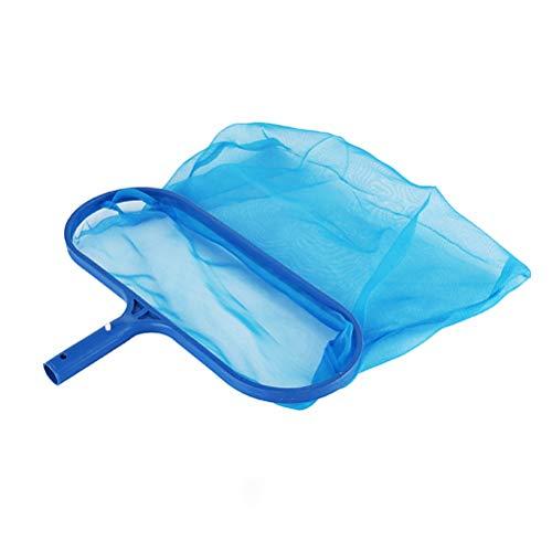 Leikance Skimmer-Netz mit tiefer Tasche, Pool-Skimmer, Schwimmbadreinigung, Laubkescher, Netzrahmen