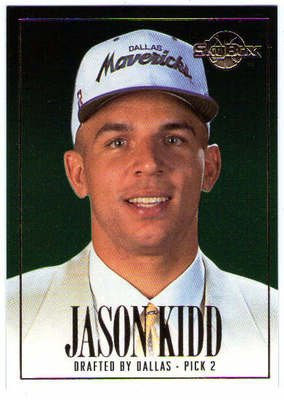 JASON KIDD 1994-95 94/95 Skybox Premium Rookie Card RC DP2 Draft Picks
