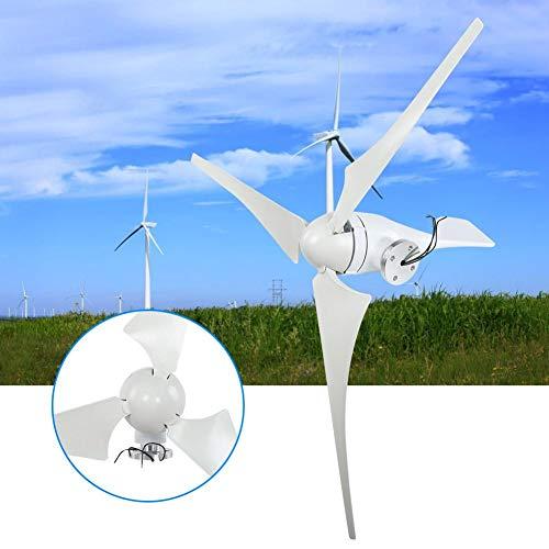 Jadpes Generatori eolici di Tipo S 400w, generatore Eolico NE-400S Generatore 400W 24V 3PCS 630mm Fibra di Vento in Fibra di Nylon Mulino a Vento