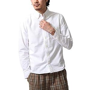 [ チャオ ] ciao オックスフォード ボタンダウンシャツ 日本製 292003 10WHITE長袖 M