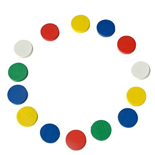 STOBOK 100 stücke Mathematik zählen chip Vorschule zählen Lernen Spielzeug für Kinder Kind (Bunte)