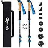 Best trekking poles - Glymnis Walking Trekking Poles Lightweight 2pc/set Collapsible Adjustable Review