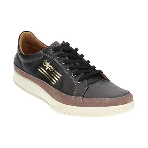 [ボブソン] 5445 カジュアルシューズ メンズ ブラック ネイビー 24.5cm〜27.0cm 3E 軽量ソール 本革 柔らかい スニーカー ウォーキングシューズ 紳士靴 日本製 ブラック 26.5cm