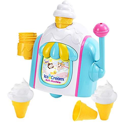 Schaumeismaschine Wasserspielzeug Badewanne Eisständer Eismaschine Spielset Schaumeismaschine Für Kinder, Geschicklichkeitsspiel, Spiele Für Kleinkinder, Geschenke Für Kinder