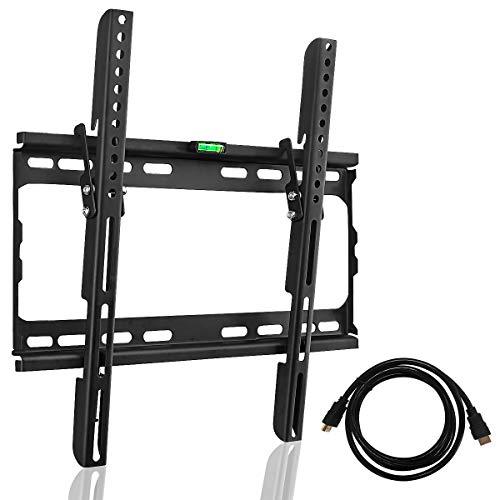 Suptek TV Wandhalterung mit integrierter Wasserwaage für 26-55 Zoll LED LCD Plasma Flachbildschirme Kapazität 45kg MT4204