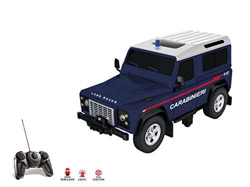 Mondo Motors - Land Rover Defender Carabinieri 2.4Ghz - macchina radiocomandata - colore blu - modello in scala 1/14 - 63566