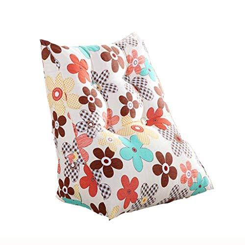 GLP Kissen Nachtsofakissen Weiche Tasche Büro Lordosenstütze Nickerchen Taille Nackenkissen Rückenkissen mit doppeltem Verwendungszweck 3 Farben, 2 Größen (Color : B, Size : 45x25x 55cm)