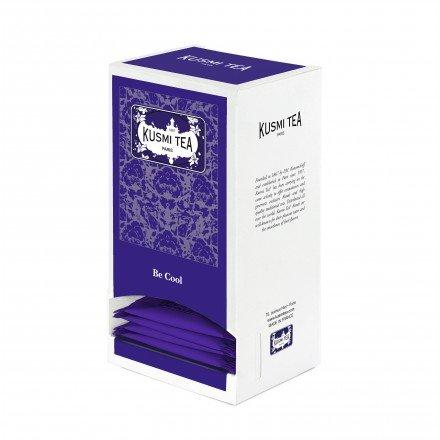 KUSMI Tea Paris - BE COOL - Nachfüllpackung mit 25 Teebeuteln für Geschenksets