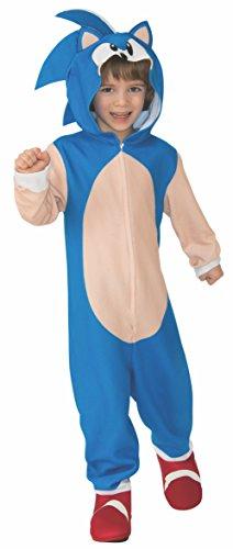 Rubie's Child's Sonic Oversized Jumpsuit Costume, Medium