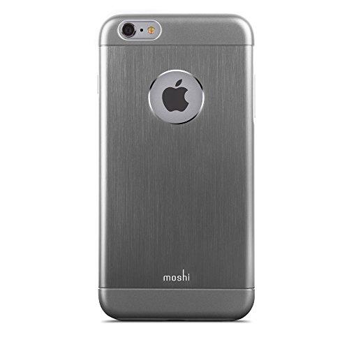 Moshi iGlaze Armour - fundas para teléfonos móviles (8,26 cm, 9,8 mm (0.386'), 16,2 cm) Gris