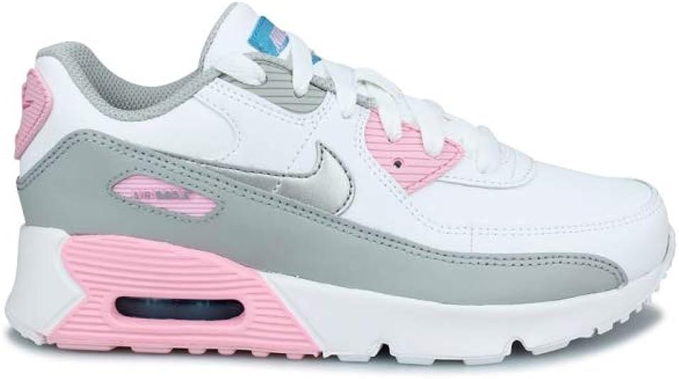 Nike Air Max 90 LTR (PS), Sneaker Mixte Enfant