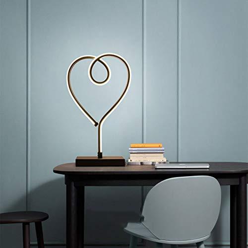 SUNA Lampe à Poser à Spirale à LED, Design Minimaliste Moderne, Lampe De Modélisation à LED Acrylique Créative Pour Salon (noir) [niveau D'énergie A]
